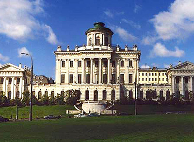 В Москве прошла закладка Дома Пашкова, в котором ныне располагается Российская государственная библиотека.