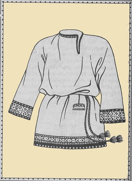f3ee6a27b75343 Сорочка, или сорочица была основной частью костюма крестьян и горожан,  мужчин и женщин, богатых и бедных. В классическом варианте сорочица была  нательной ...