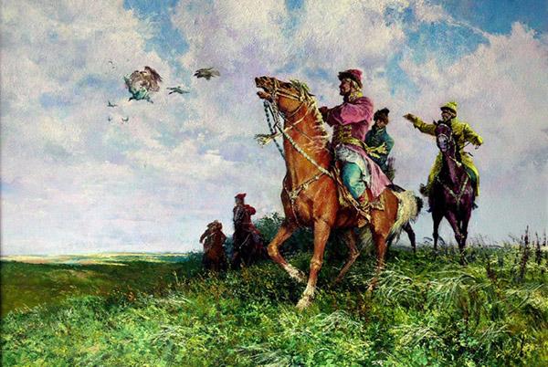 Царь написал подробное руководство по соколиной охоте 190