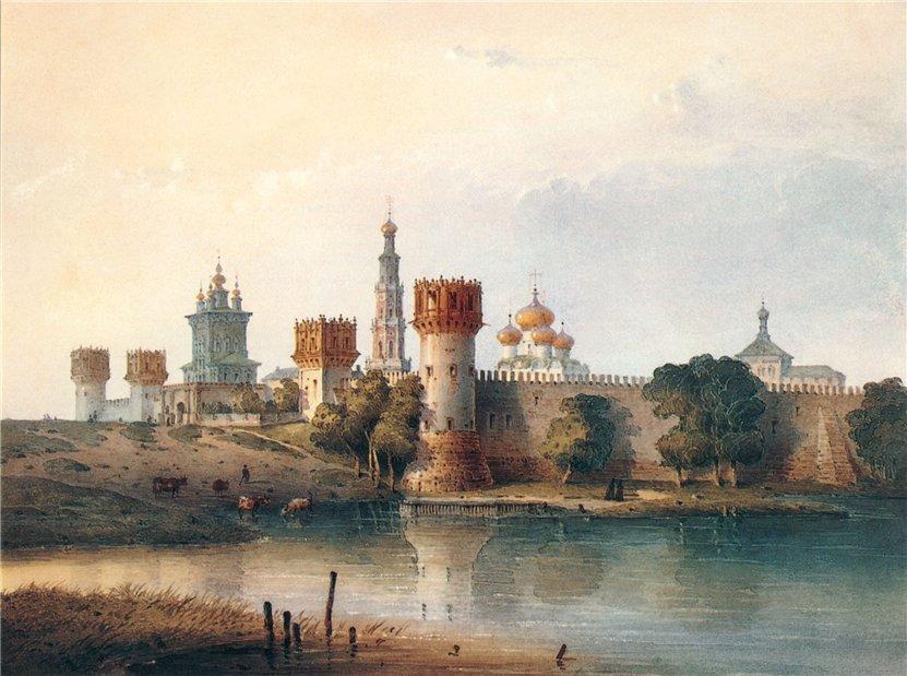 7 фактов о Новодевичьем монастыре .
