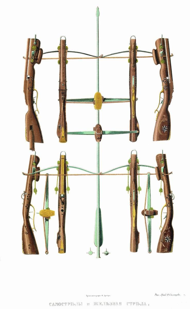 7 видов оружия русского ратника