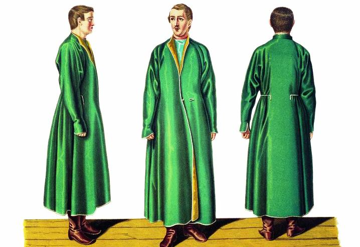 7 предметов русской одежды