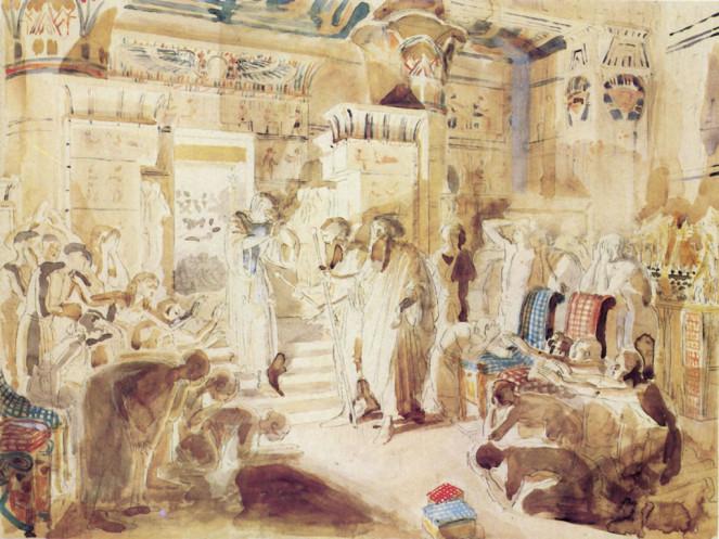 7 библейских эскизов Александра Иванова