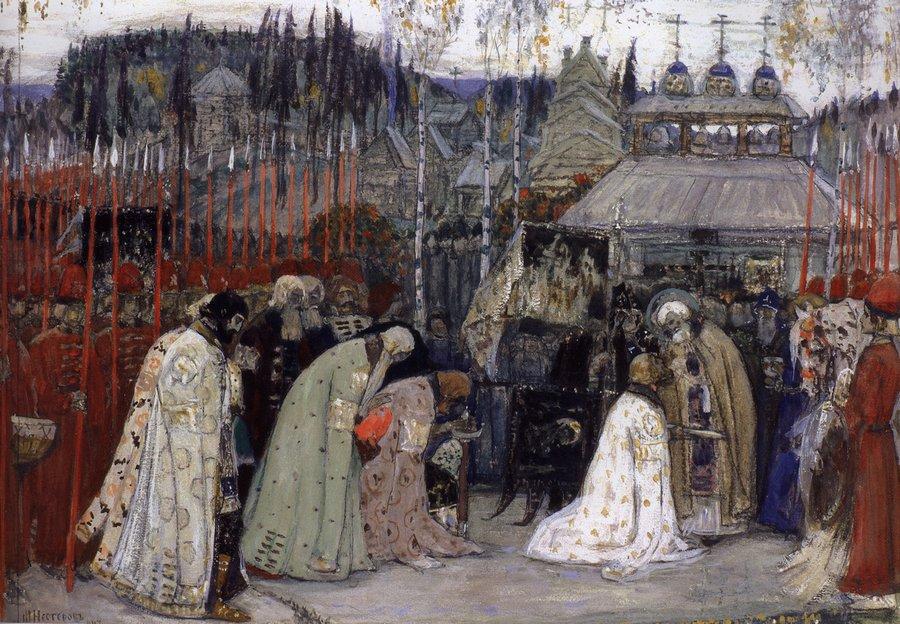 7 подвигов преподобного Сергия Радонежского (2 фото)