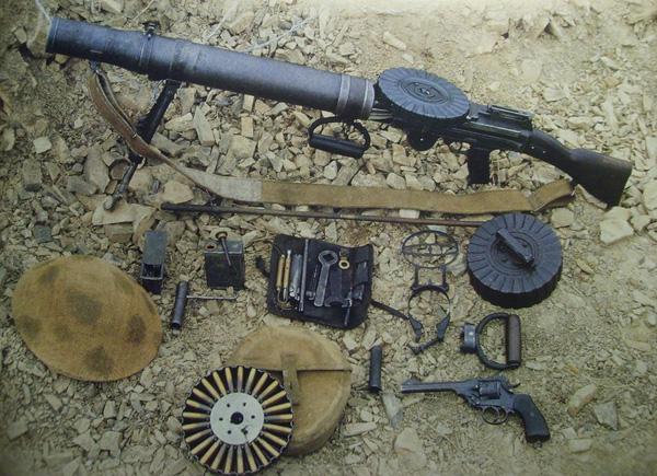 Ручной пулемет «Льюис» был
