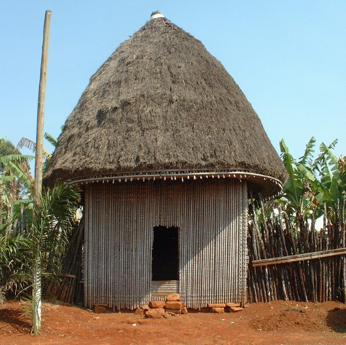 Жилище племен африки фото 15