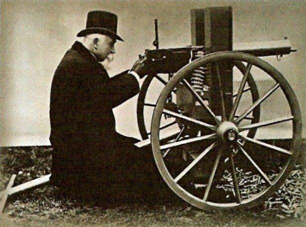 Пулемет Максима вошел в