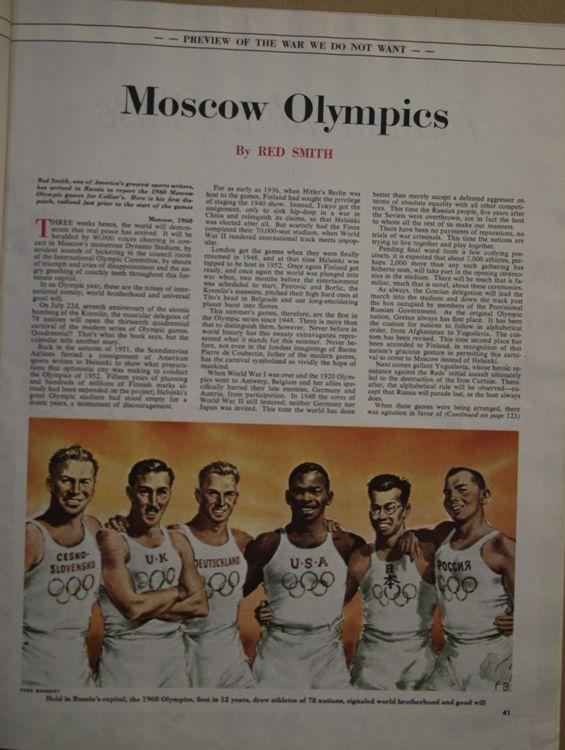 Когда Россия стала совсем демократической, ей даже разрешают провести Олимпиаду