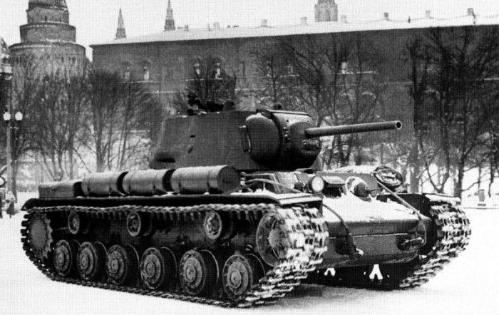 """Танк КВ-1: немцы называли его """"чудовищем"""""""