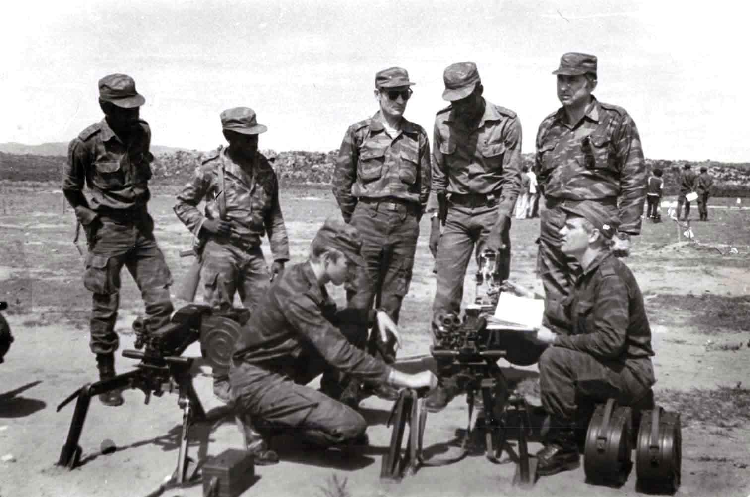 Советские военные сражались в африке