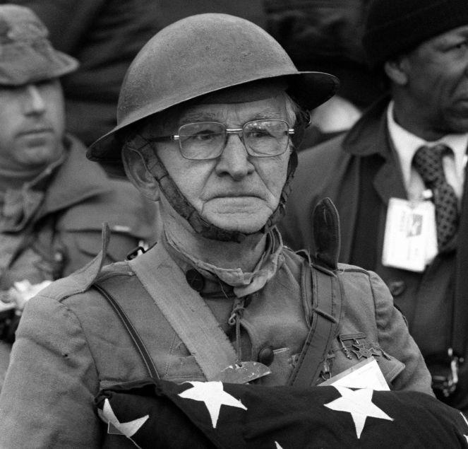 Живут ветераны второй мировой войны
