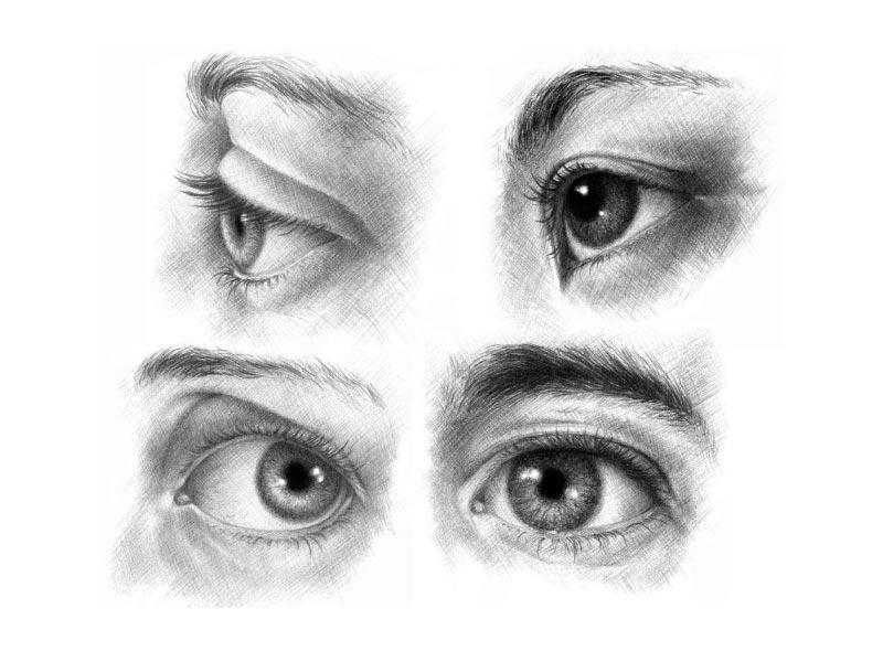 Красивые карие глаза картинки