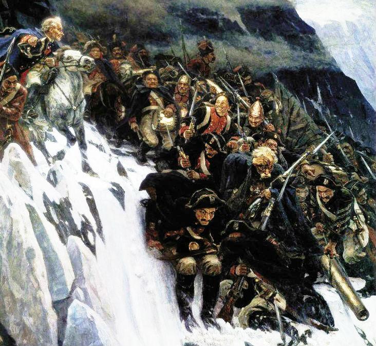 5 интересных фактов о переходе Суворова через Альпы | Русская семерка