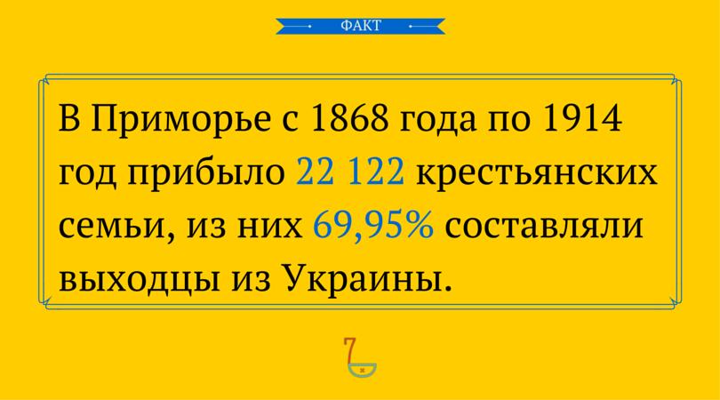 Великие переселения украинцев в России