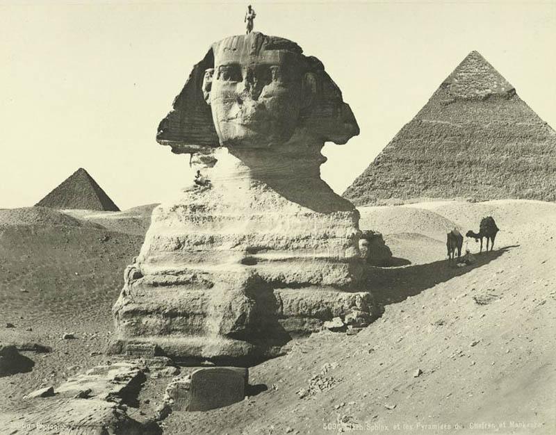 Что случилось с носом египетского Сфинкса