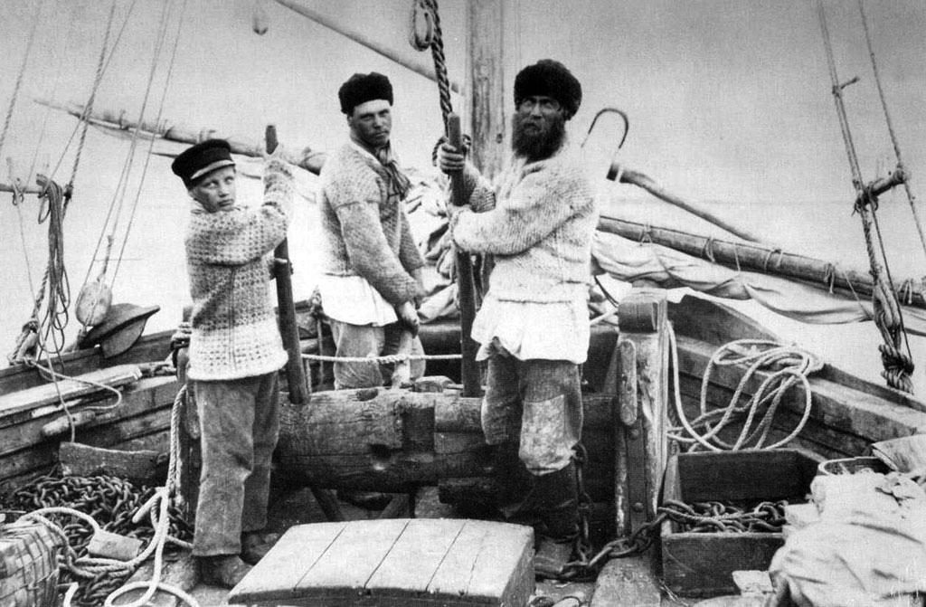 кого брали поморы уходя на длительную рыбалку брали с собой особого человека