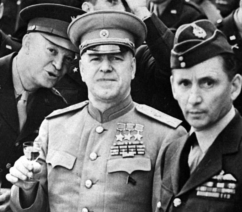 Хроника георгия жукова вторая мировая война
