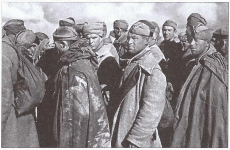 вов военнопленные фото советские