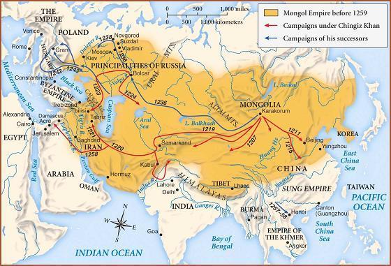 Монгольская империя (1206–1368)