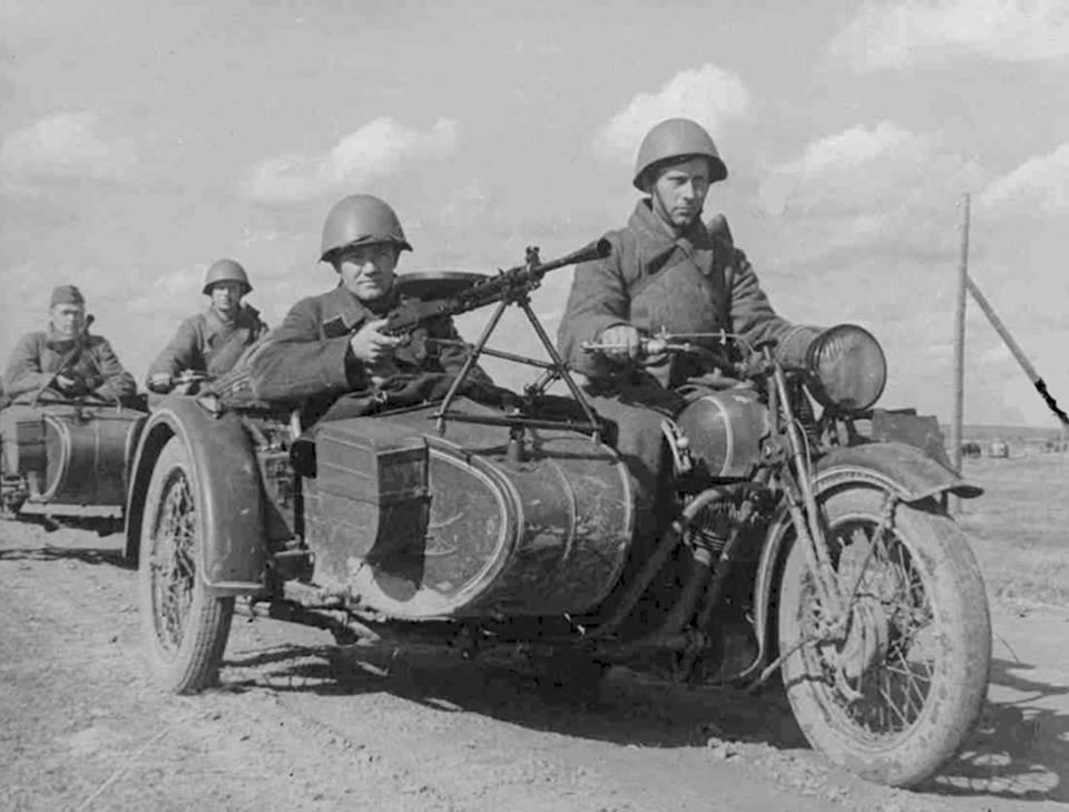 Мотоциклы второй мировой войны фото
