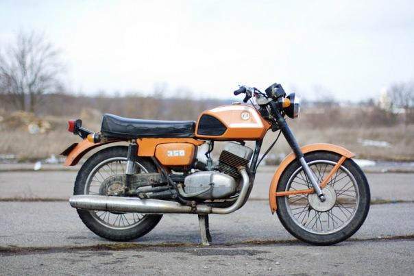 кроссовый мотоцикл чезет 250 #9