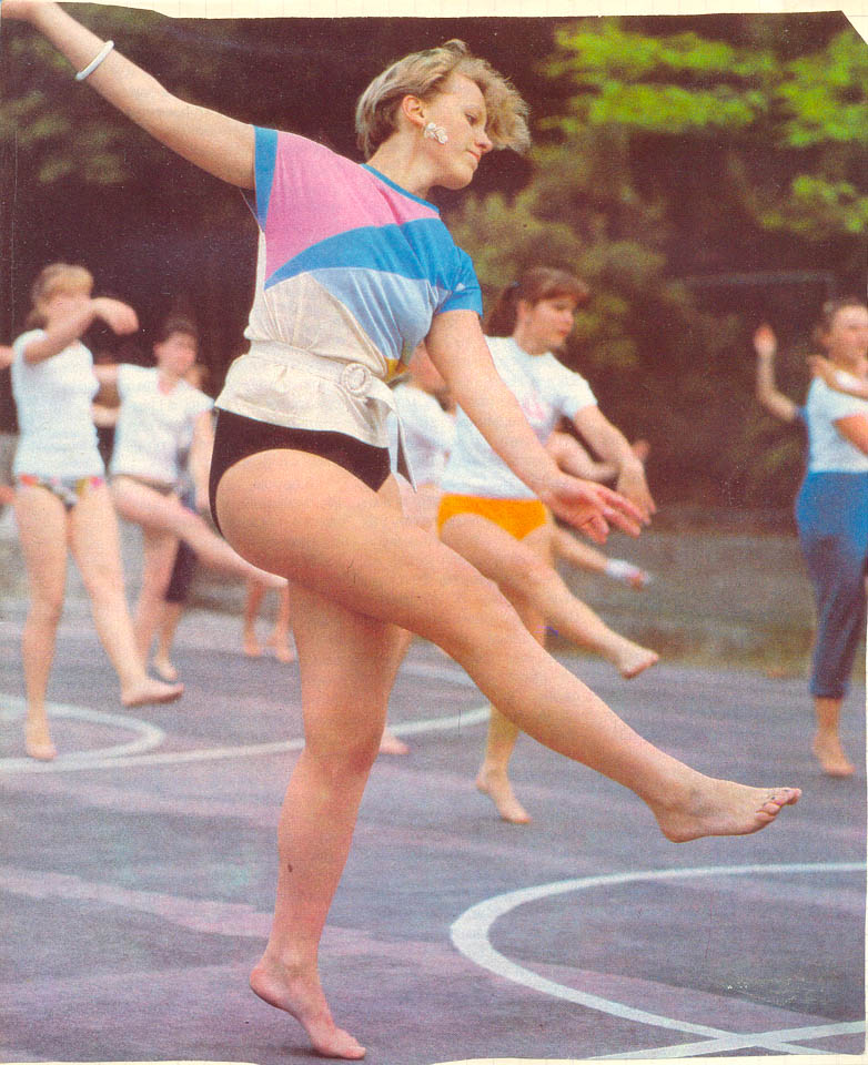 даже советская гимнастика упражнения фото сожалению, него было