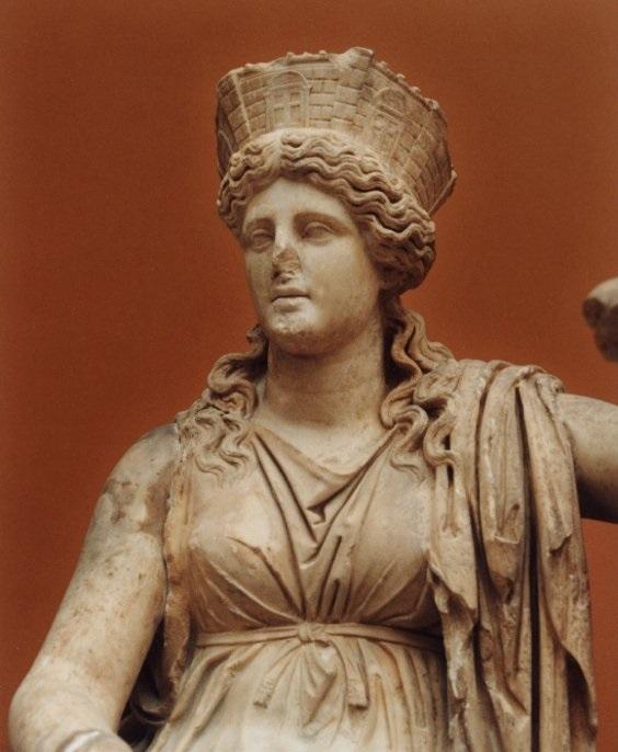 Кибела древнегреческая богиня