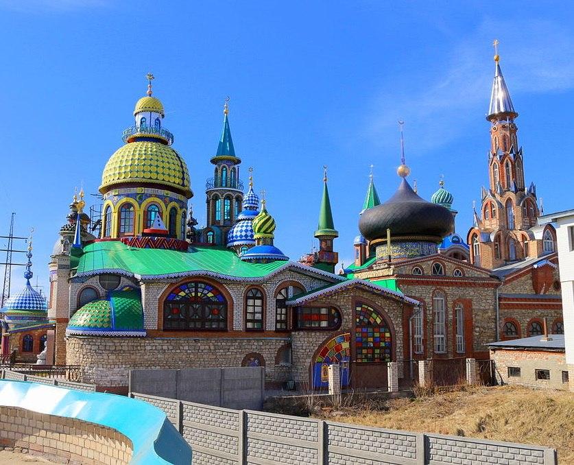 Храмы, которые «сменили религию»