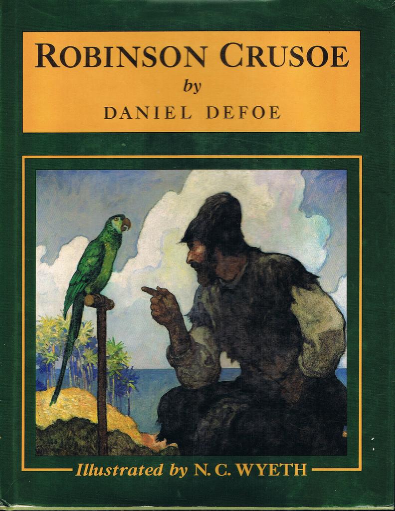 an analysis of crusoes series of character development in robinson crusoe a novel by daniel defoe