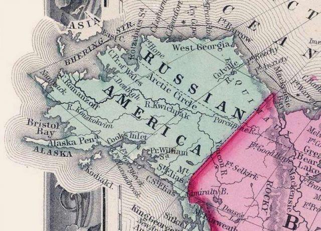 Неизвестные факты о Русской Америке