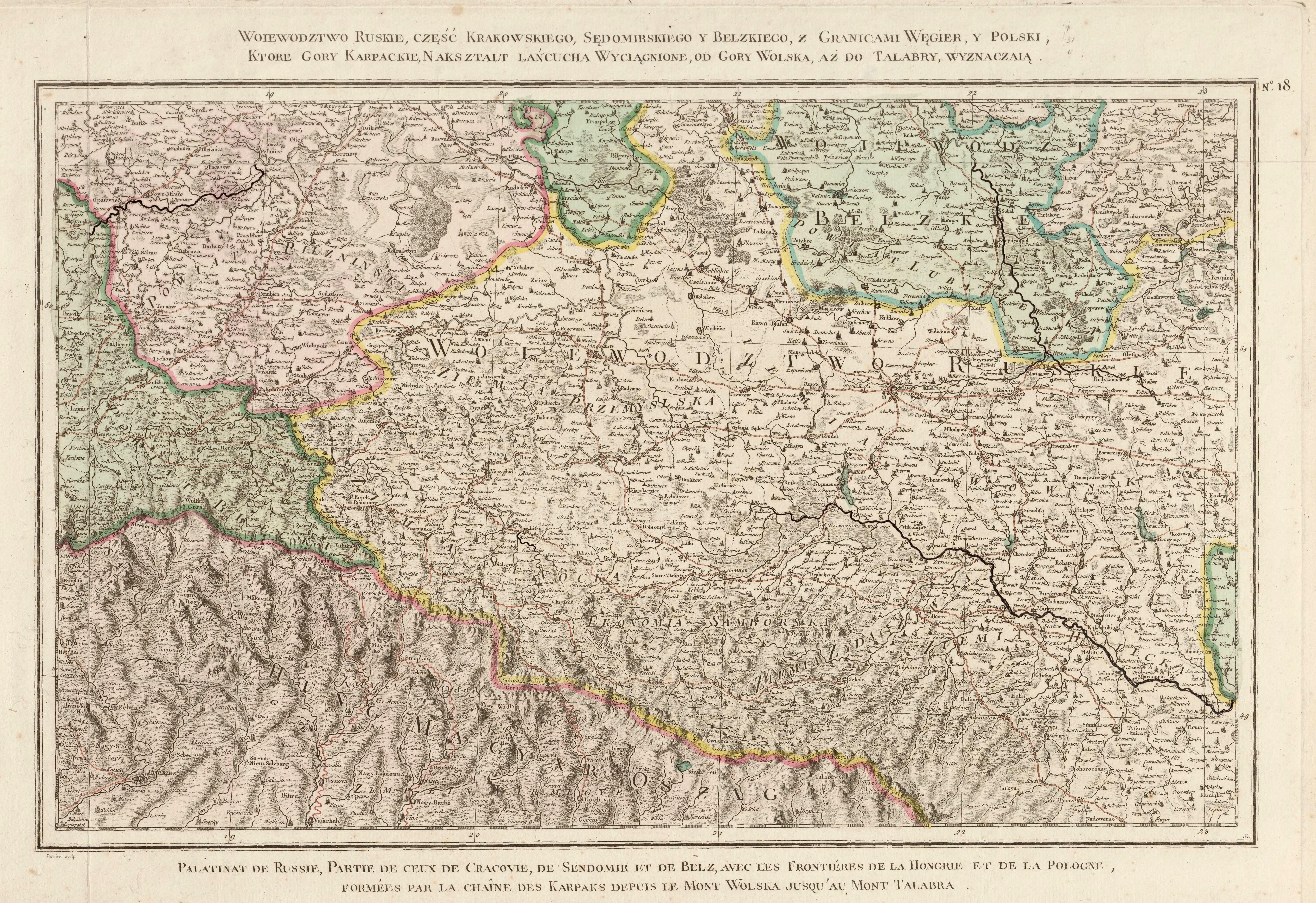 Карта Воеводства Русского