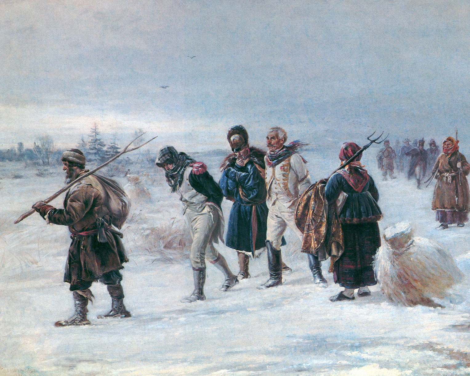 The occupation of moscow - napoleon in russia.
