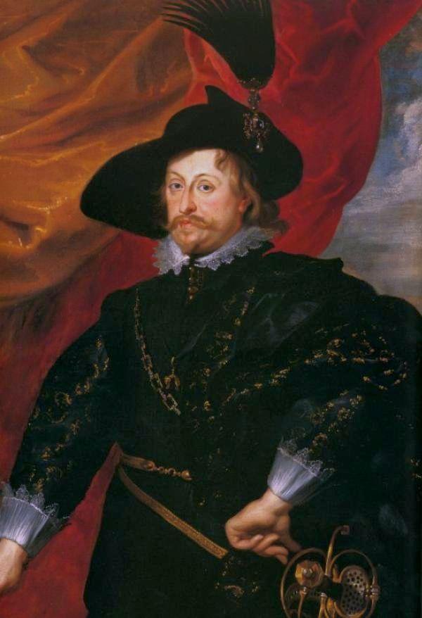Портрет Владислава, написанный Рубенсом