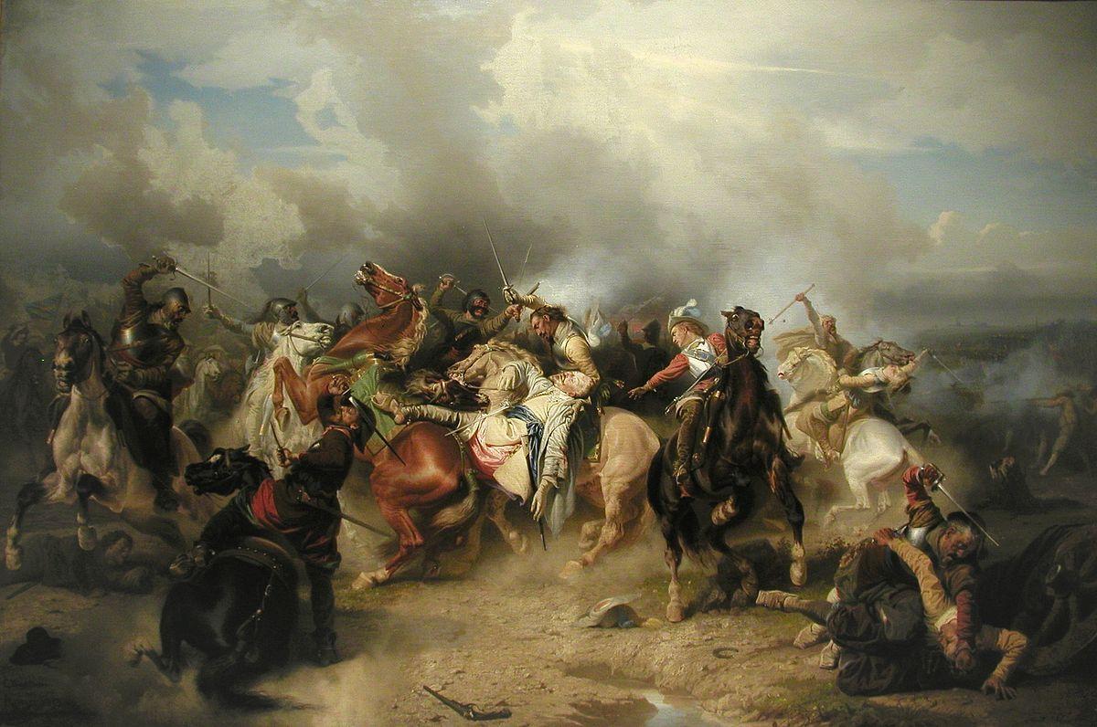 Гибель короля Густава Адольфа в битве при Лютцене, 1632 год