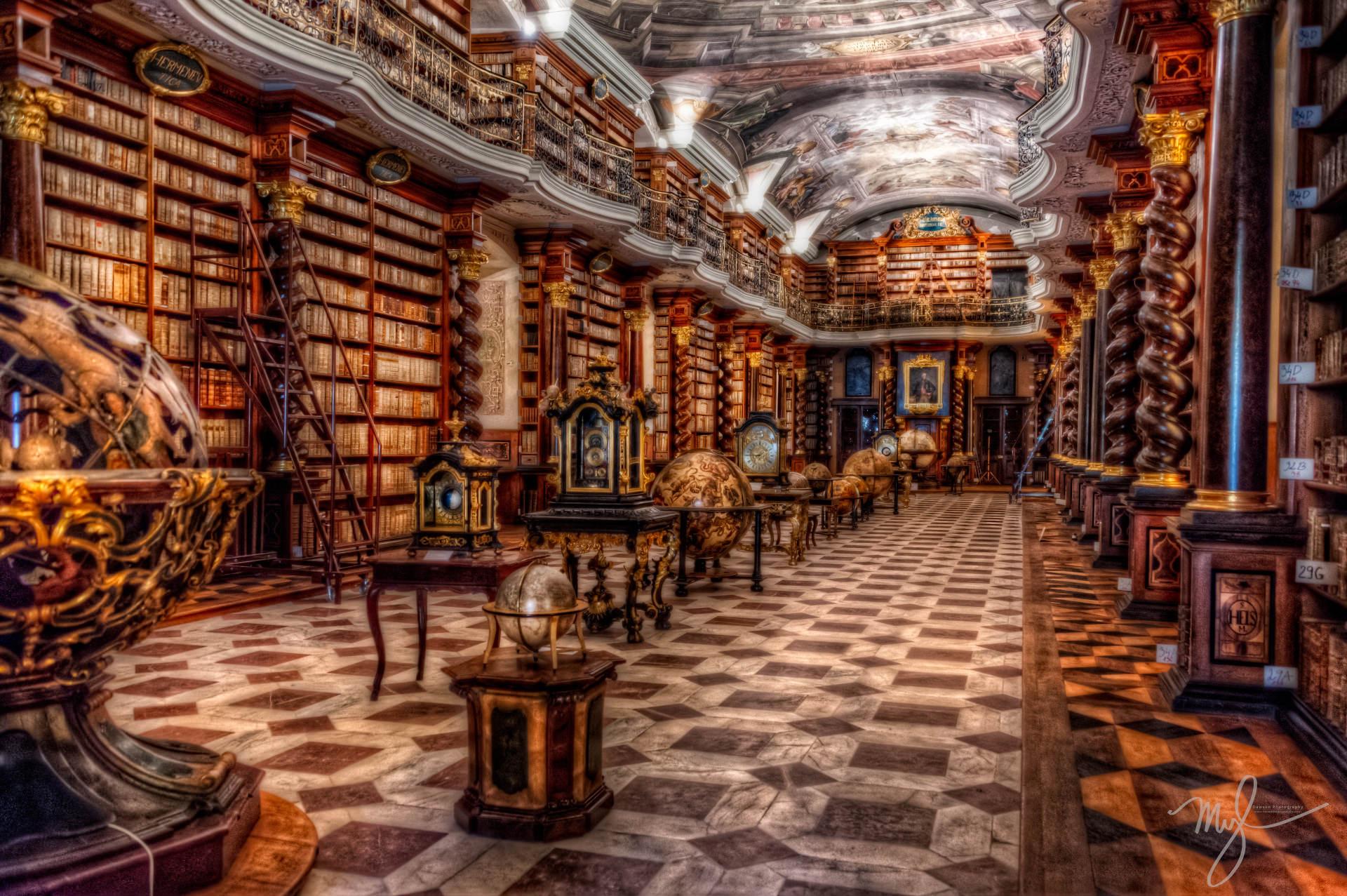 Национальная библиотека в Праге