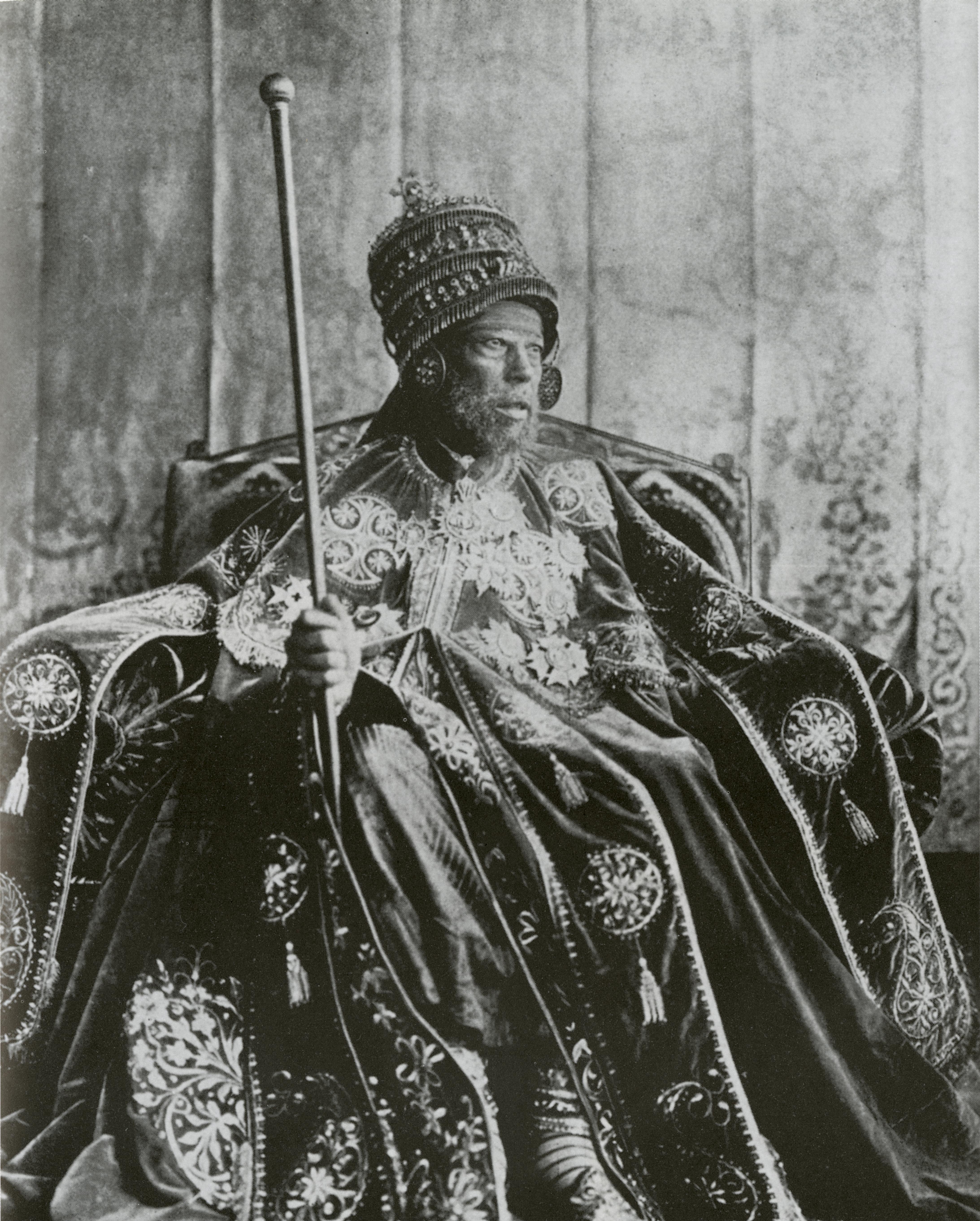 Император Эфиопии Менелик II