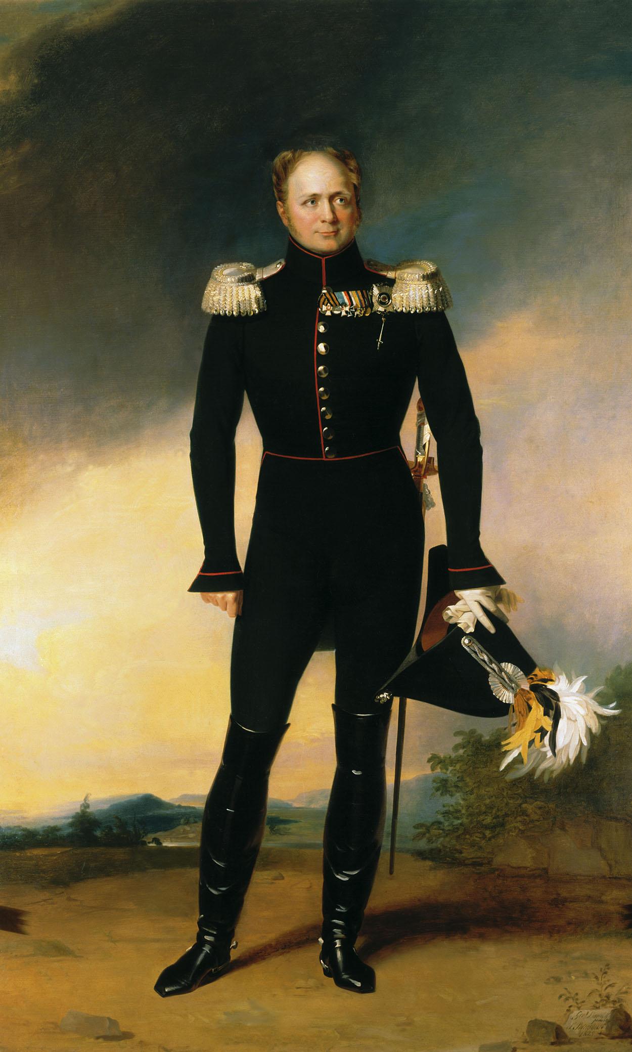Александр I, Всероссийский император и самодержец