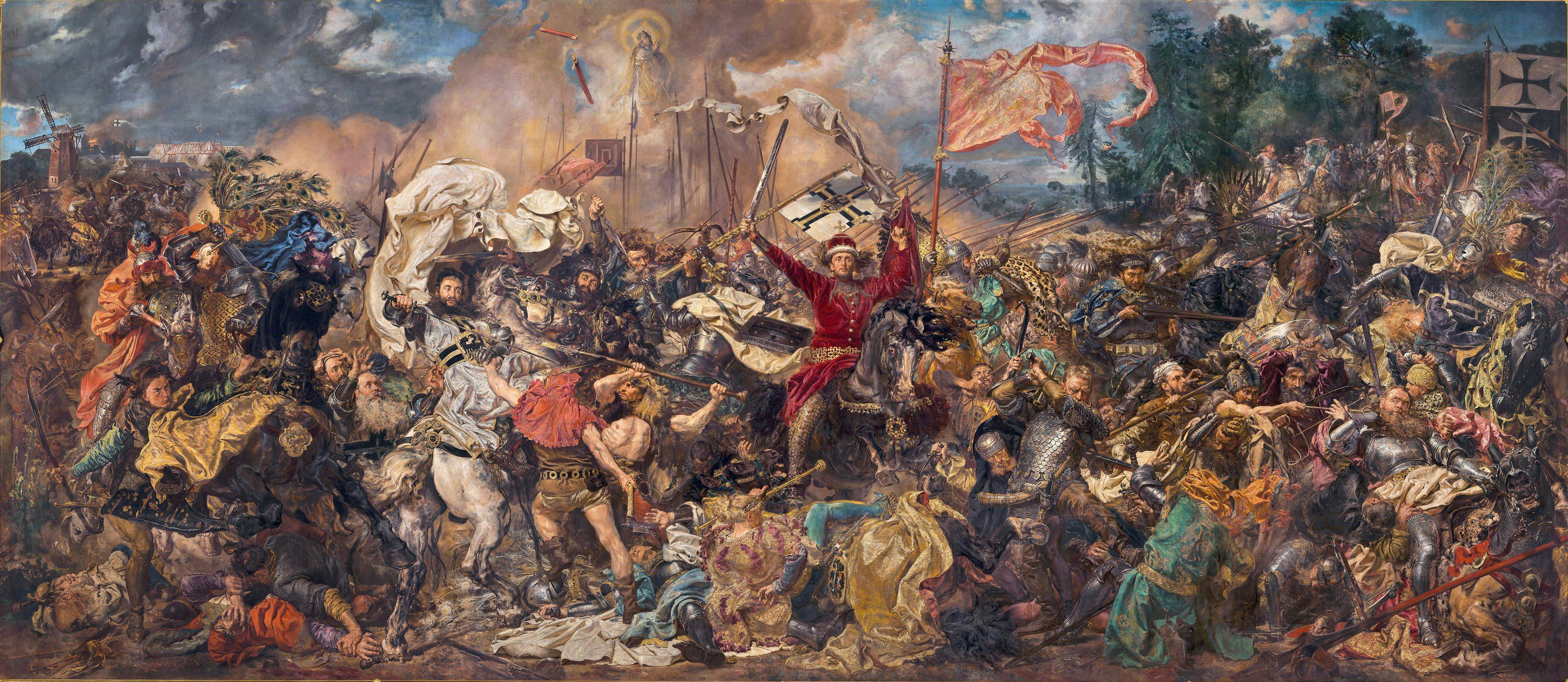 «Грюнвальдская битва» Яна Матейко