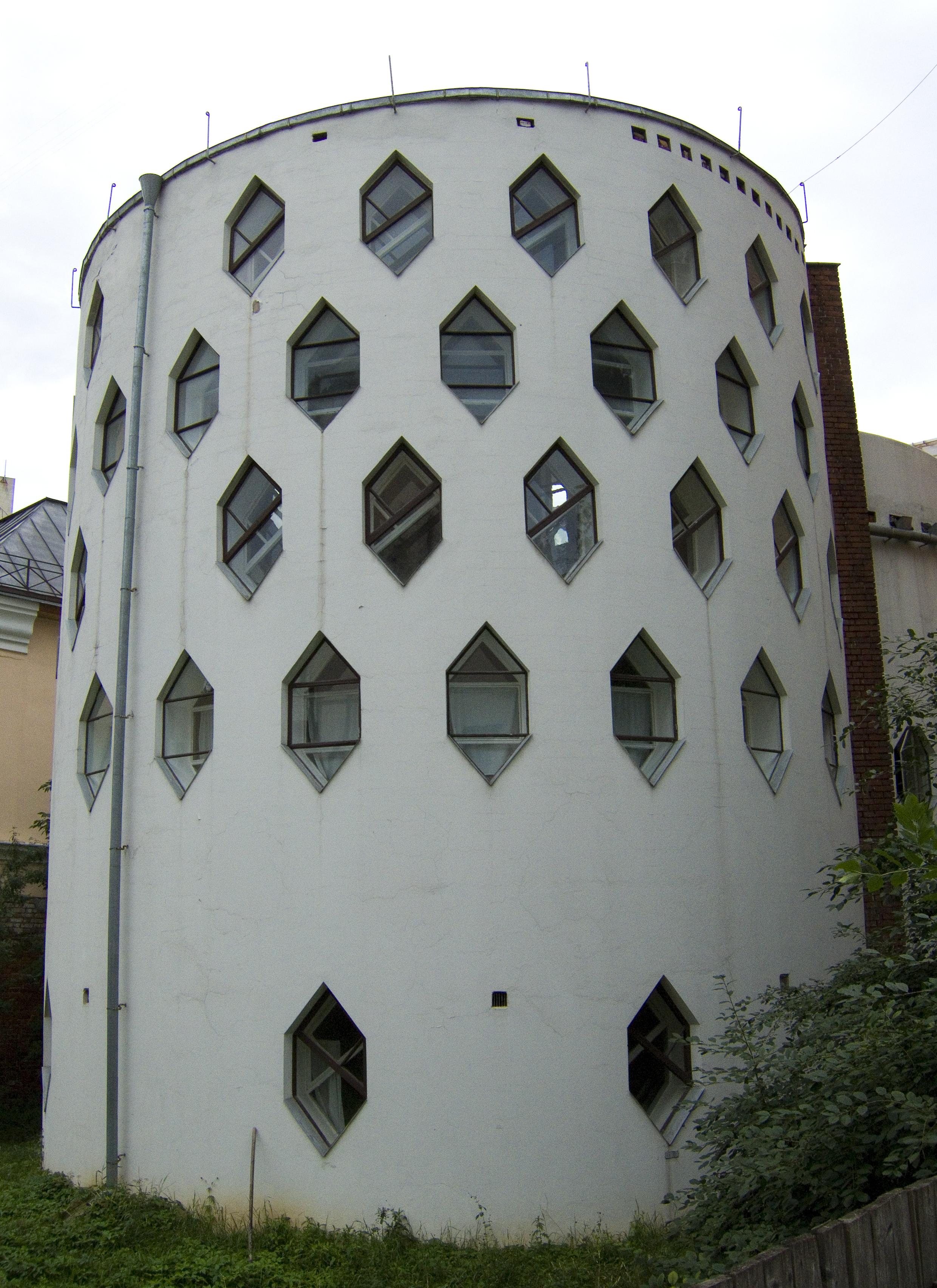 Дом Мельникова, 1927-1929 годы