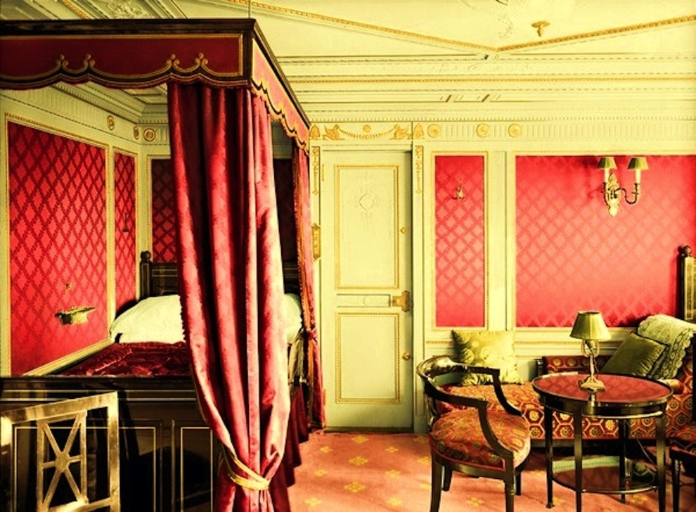 First-class-room-B-64-decorated-in-the-Empire-style.