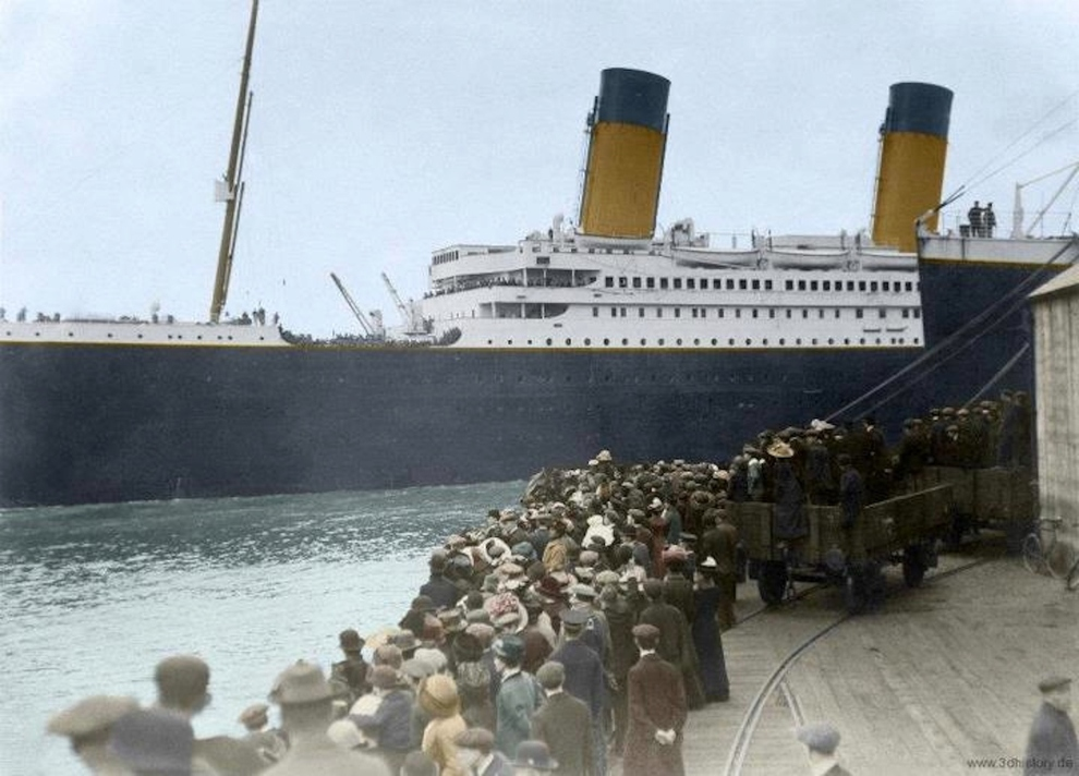 Photo-taken-on-April-10-1912-as-the-Titanic-left-Southampton-England-bound-for-New-York.