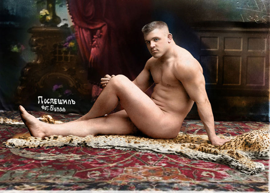 Russian-Wrestler-Karl-Pospischil-1912