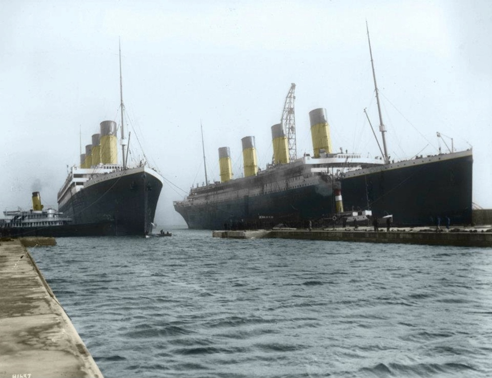 The-Titanic-was-built-alongside-her-sister-ship-the-Olympic.