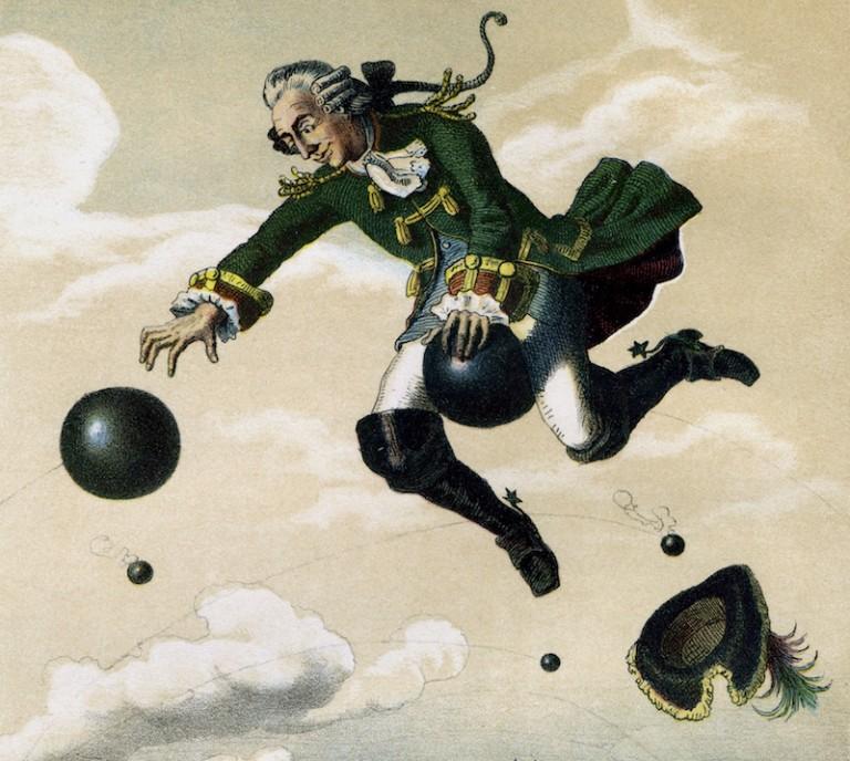 барон фон мюнхгаузен картинки населяют как равнинные