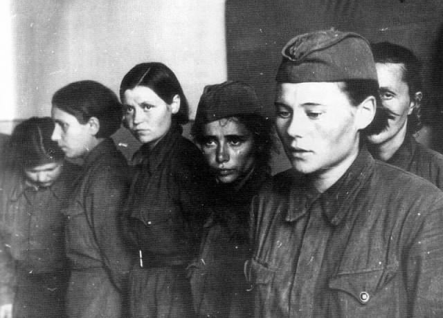 Сексуальные издевательства немцев над русскими