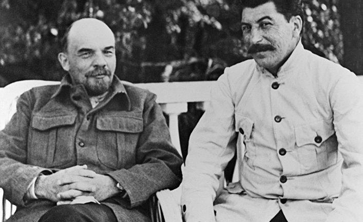 когда познакомились ленин и сталин