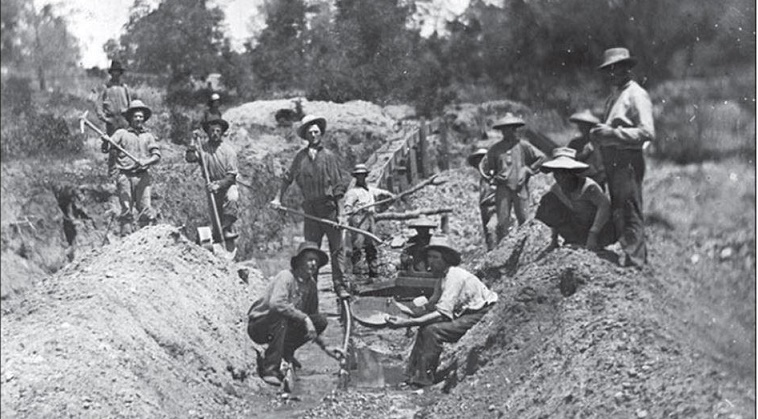 a history of the gold rush in california between 1840 and 1890 California history: a topical hubert howe bancroft, vol 18-24, history of california to 1890 and community in gold rush california (2001.