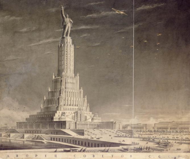 "Image result for дворец советов иофана"""