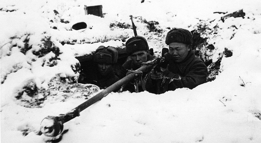 Что было с погодой в конце 1941 года во время битвы за Москву?