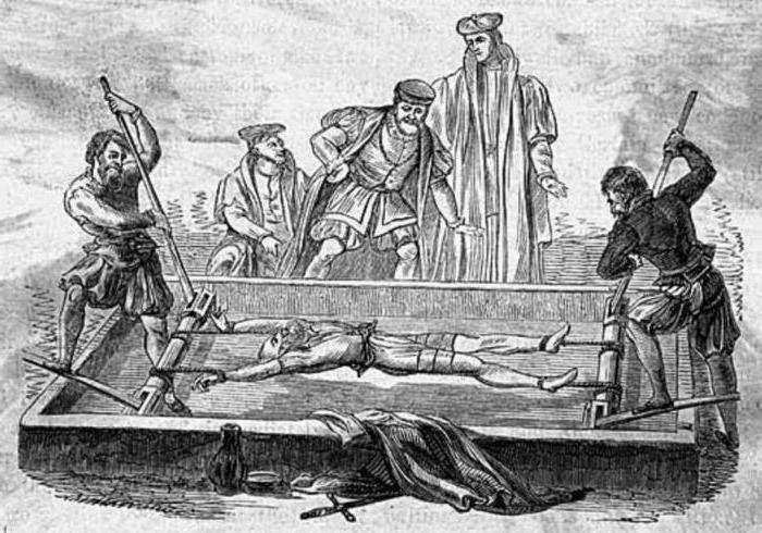 Пытки иглами женщин